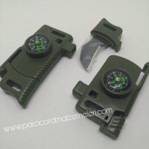 Paracord survival klips