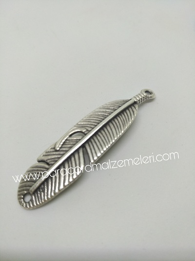 Paracord Bileklik Aksesuar Kanat Boncuk Gümüş Renk 1